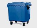 Контейнеры (баки) для мусора пластиковые